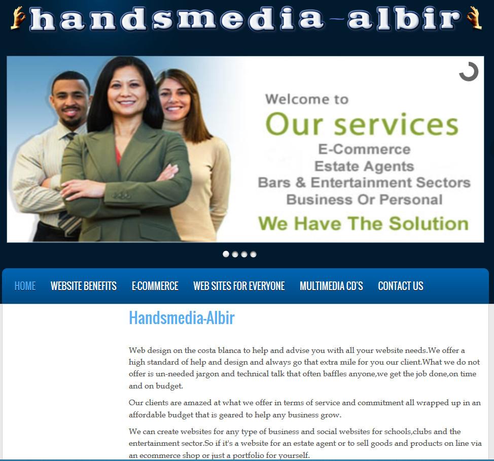 Webdesign Handsmedia